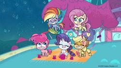 MLP Pony Life Tiny Pop - Enjoying a picnic! Cute Impact.png