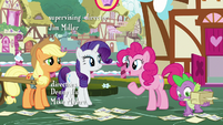 "Pinkie Pie ""I'm sure Rarity has her reasons"" S7E9"
