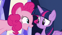"Pinkie Pie ""to help me"" S9E14"