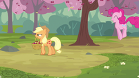 Pinkie Pie going about S2E14