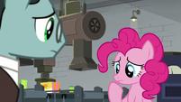 Pinkie considering Sans Smirk's offer S9E14