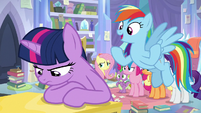 "Rainbow ""been in tough spots before"" S9E25"