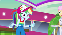 """Rainbow Dash """"she's our friend now!"""" EGSB"""