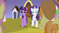 Rarity 'Turns out' S3E2