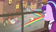 Snowfall sees Snowdash zip through the street S6E8
