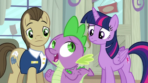 "Spike ""too squeaky! better keep looking!"" S5E3.png"