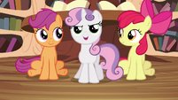 Sweetie Belle -Ready to give it a shot!- S4E15