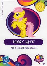 Wave 10 Sunny Rays collector card