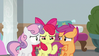 Cutie Mark Crusaders very confused S8E12