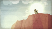 Daring Do appears at Caballeron's dig site S9E21