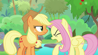 "Fluttershy ""and right now!"" S8E23"