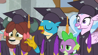 """Gallus """"now that we've saved Equestria"""" S8E26"""