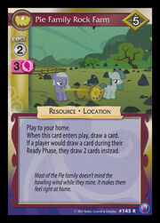 Pie Family Rock Farm card MLP CCG.jpg