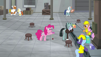 "Pinkie ""just off the top of my head"" S9E14"