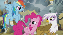 "Pinkie Pie ""that's what I was trying to tell you!"" S5E8"