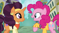 Pinkie singing --be unique-- S6E12
