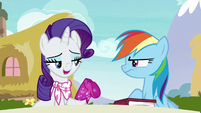 """Rarity """"I find those action sequences"""" S8E17"""