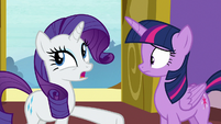 """Rarity """"could have something to do with"""" S9E19"""