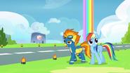 S06E07 Spitfire oprowadza Rainbow