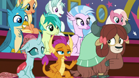 """Smolder """"except maybe stand on stage"""" S8E21"""