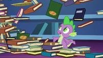 """Spike """"I just finished organizing those!"""" S8E24"""