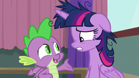 """Spike """"instead of focusing on Pinkie"""" S9E16"""