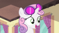 "Sweetie ""At least everypony else who was able to stay"" S4E19"