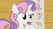 "Sweetie Belle ""we need to do something new"" S8E12"