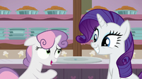 Sweetie Belle -that was, uh... one tasty bite- S7E6