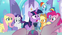 """Twilight """"the baby is an Alicorn?!"""" S6E1"""