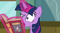Twilight Sparkle yelps in pain S7E3