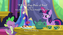 Twilight takes cookie away from Spike S6E22