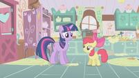 Apple Bloom and Twilight Sparkle S01E12