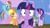 "Applejack ""tell her the truth finally?"" S8E7"