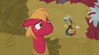 Big Mac disheartened by Discord's words S8E10