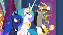 """Discord """"tall, dark, and handsome"""" S9E1"""