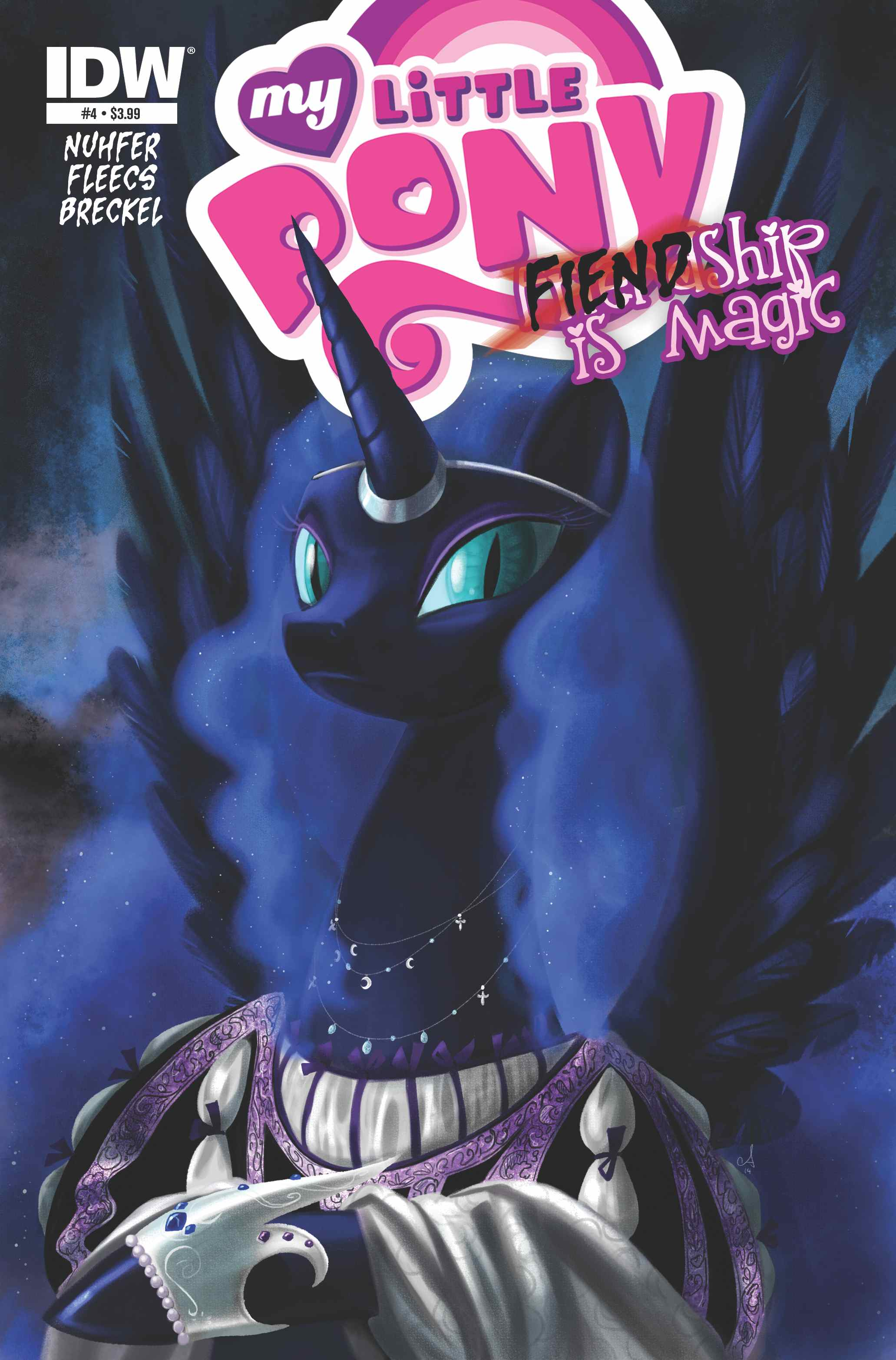 FIENDship is Magic Issue 4
