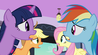 Main ponies collective gasp S03E12