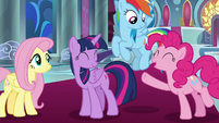 """Pinkie """"as long as it's with all of you!"""" S9E2"""