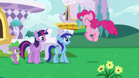 Pinkie -you didn't say Minuette would be here!- S5E12