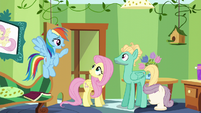 """Rainbow """"now that you've accomplished this"""" S6E11"""