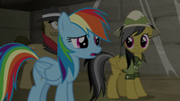 """Rainbow """"there's a monster out there"""" S9E21"""