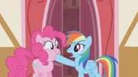 """Rainbow Dash """"a simple nod would do"""" S1E05"""