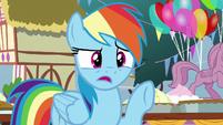 "Rainbow Dash ""that's crazy!"" S7E23"