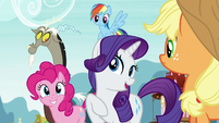 """Rarity """"are you suggesting..."""" S5E22"""