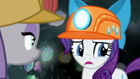 Rarity caught off-guard by Maud's comment S7E4