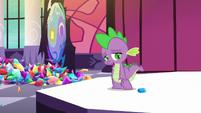 "Spike ""I used my friend's position"" S5E10"