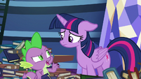 """Spike """"of all ponies, I can't believe"""" S8E24"""