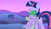 Spike and Twilight hugging S01E24.png