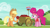 """Applejack """"the most important thing in the game"""" S6E18"""